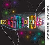 digital background | Shutterstock .eps vector #64699846