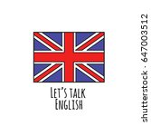 united kingdom flag round icon...