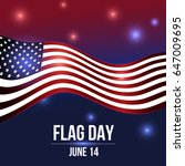 flag day. 14 june. | Shutterstock .eps vector #647009695