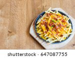 selective focus point delicious ... | Shutterstock . vector #647087755