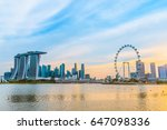singapore july 9  2016 ... | Shutterstock . vector #647098336