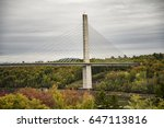 penobscot narrows bridge duing... | Shutterstock . vector #647113816