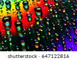 Abstract Water Drop On Cd...