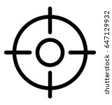 focus vector icon | Shutterstock .eps vector #647129932