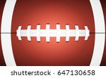 rugby ball texture  sporty... | Shutterstock .eps vector #647130658