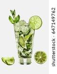 mojito | Shutterstock . vector #647149762