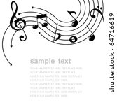 music theme | Shutterstock .eps vector #64716619