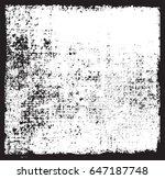 grunge texture background... | Shutterstock .eps vector #647187748