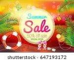 summer. | Shutterstock .eps vector #647193172