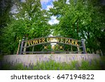 tower grove park in st. louis ... | Shutterstock . vector #647194822