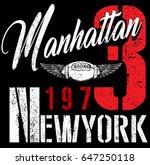 college new york typography  t...   Shutterstock .eps vector #647250118