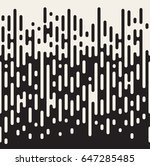 rounded lines seamless pattern. ... | Shutterstock .eps vector #647285485