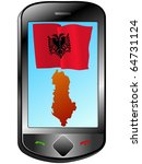 connection with albania | Shutterstock .eps vector #64731124
