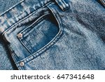Jeans Background  Denim With...