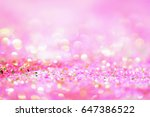 Glitter Sparkle Pink Backgroun...