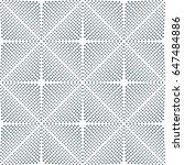 vector grey dot pattern....   Shutterstock .eps vector #647484886