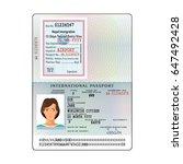 open nepal international... | Shutterstock .eps vector #647492428