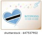 heart logo made from the flag...   Shutterstock .eps vector #647537902