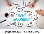 event management concept. the... | Shutterstock . vector #647550292