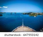 Cruise Ship View  Bermuda