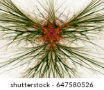 abstract fractal background.... | Shutterstock . vector #647580526
