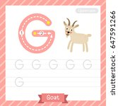 letter g uppercase tracing...