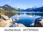 schliersee lake in bavaria  ...   Shutterstock . vector #647594062