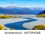 beautiful scenery of arthur's... | Shutterstock . vector #647594368