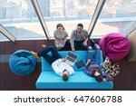 startup business tech team      ... | Shutterstock . vector #647606788
