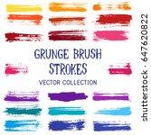 marker pen scribble vector... | Shutterstock .eps vector #647620822