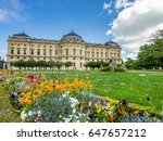 beautiful towns of germany  ... | Shutterstock . vector #647657212