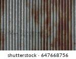 zinc texture  zinc background ... | Shutterstock . vector #647668756