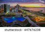Aerial View Over Punta Del Este ...