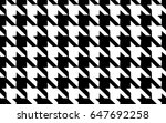 black and white cage pattern.... | Shutterstock .eps vector #647692258