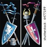 cold steel   Shutterstock .eps vector #6477199