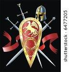 heraldic composition | Shutterstock .eps vector #6477205