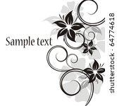 Stock vector vector flowers 64774618