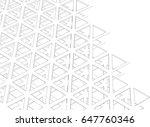 building 3d structure.... | Shutterstock .eps vector #647760346