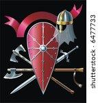pole axe   Shutterstock .eps vector #6477733
