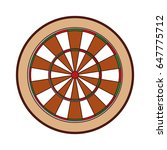 target goal isolated icon   Shutterstock .eps vector #647775712