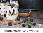 Blackberry Parfaits Made With...