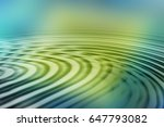 colorful ripple background | Shutterstock . vector #647793082