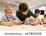 education  children  technology ... | Shutterstock . vector #647805358