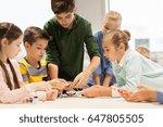 education  children  technology ...   Shutterstock . vector #647805505
