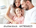 people  family and morning... | Shutterstock . vector #647806825