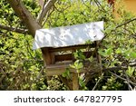 Photo Of A Small Bird Booth In...