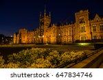 queen's university belfast is a ... | Shutterstock . vector #647834746