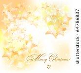 christmas background. vector   Shutterstock .eps vector #64786837