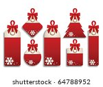 winter set of sales tags | Shutterstock .eps vector #64788952