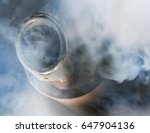 Exhaust Gas From A Car With...